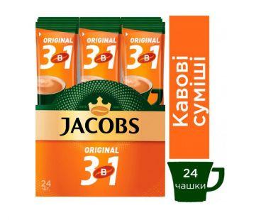 Кофе Jacobs Напиток кофейный Jacobs Original 3в1 12г/24шт
