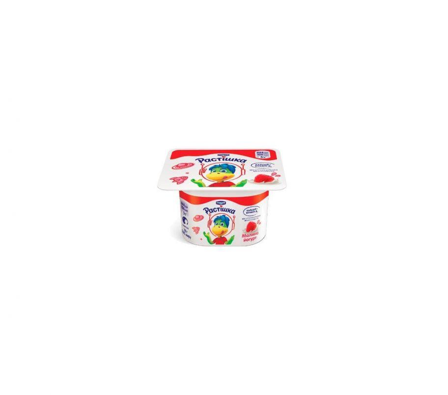 Растишка Йогурт Малина 2% стакан 115г