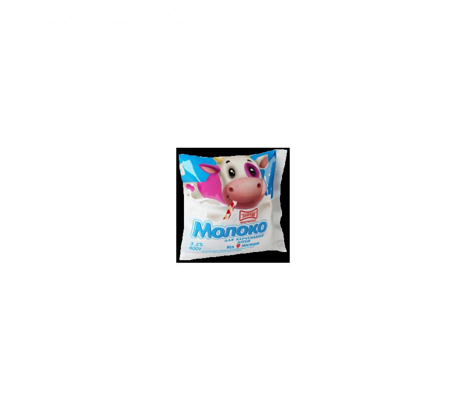 Злагода Молоко пастеризованное для детей 3,2%, 400г