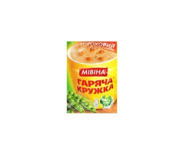 Еда быстрого приготовления Мивина Суп гороховый с гренками 19 гр