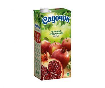 Сок Садочек яблоко-гранат т/п 950г