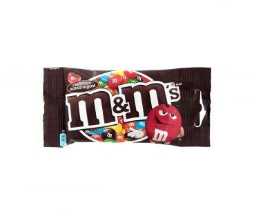 Драже M&M`s Драже с шоколадом 45г