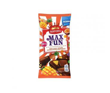 Корона шоколад Max fun  манго ананас маракуйя 160г