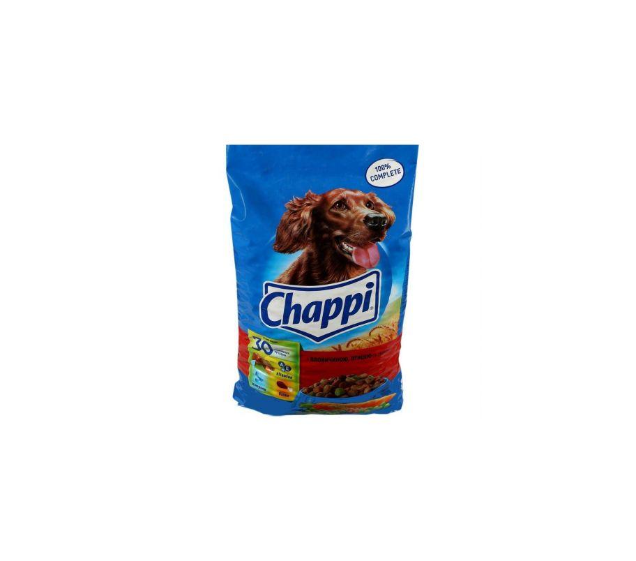 Корм для собак Chappi говядина-птица-овощи сухой, 500 г