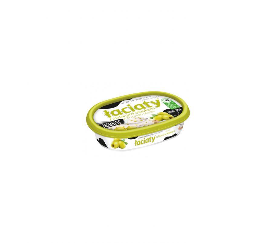 ИТ Сыр-крем 135г с оливками, Оливковая упак.