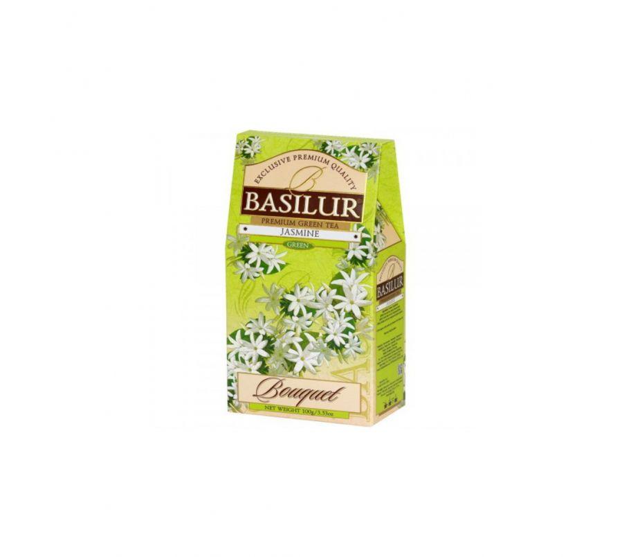 Чай зеленый Базилур Basilur Китайская коллекция Жасмин Зеленый картон 100г