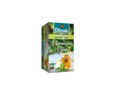 Dilmah Чай зеленый с Марокканская мята 20*2г