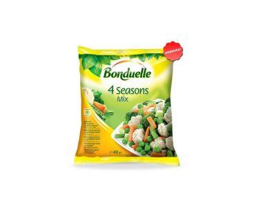 Замороженные продукты и овощи Bonduelle Смесь овощная 4 времени года с/м 400г