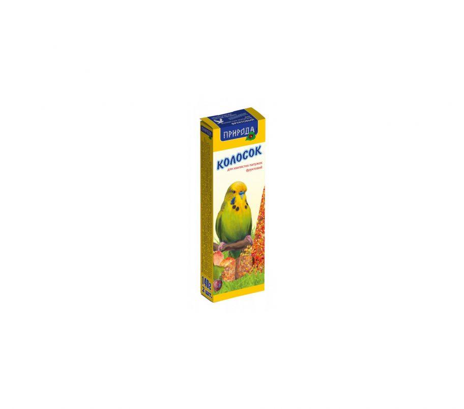 Природа Корм для попугаев Колосок фруктовый 140г
