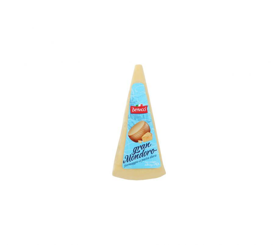 Твердый сыр Гранд Мондоро 180 гр Benucci