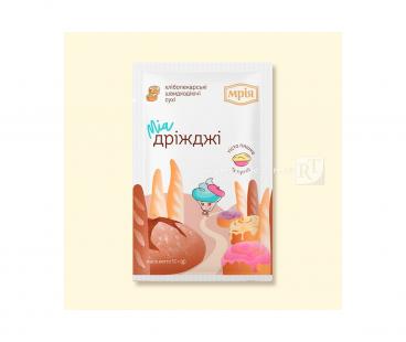 Мрия Дрожжи сухие хлебопекарские 12г