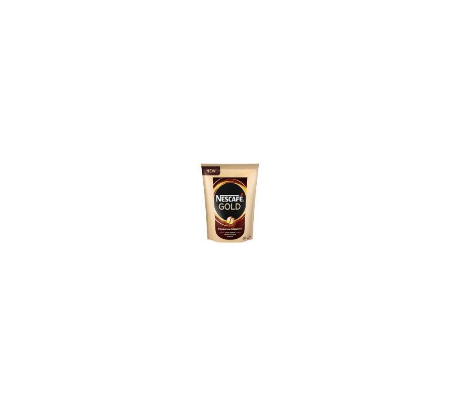 Кофе растворимый Nescafe gold пак 60 гр