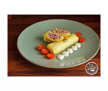 Блинчики Галя Балувана Галя Балувана Блинчики с шинкой и голландским сыром