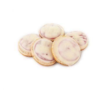 ШБ Печенье Галиция (Колобок) белая шоколадная глазурь