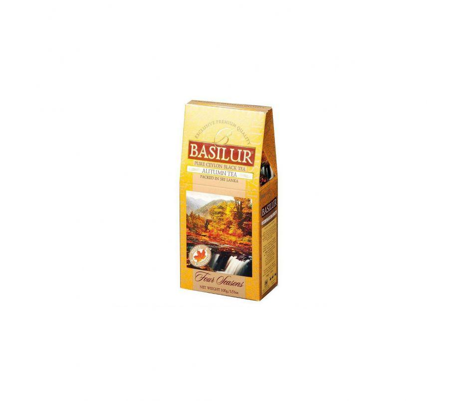Чай черный Базилур Basilur Четыре сезона Осенний картон 100 г
