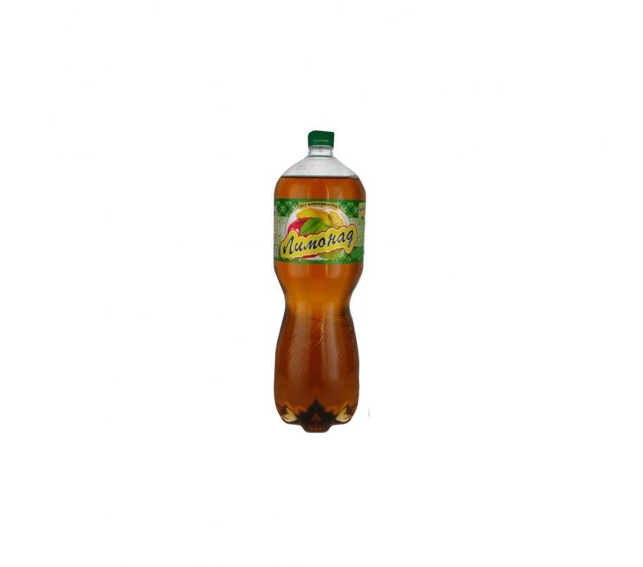 Углекислотный напиток лимонный газ 1,5л