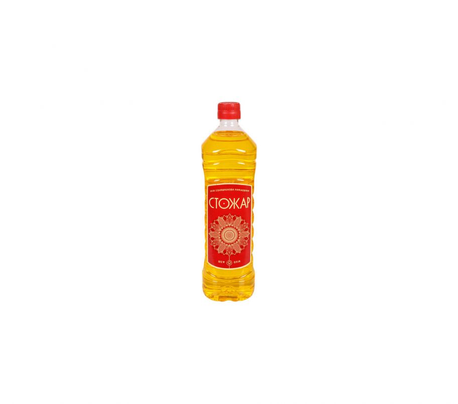 СтоЖар Масло подсолнечное рафинированное 870мл