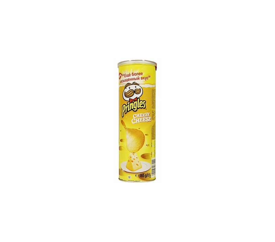 Pringles Чипсы сыр 165г