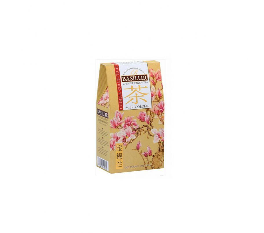 Чай зеленый Базилур Basilur Китайская коллекция Молочный улун картон 100 г