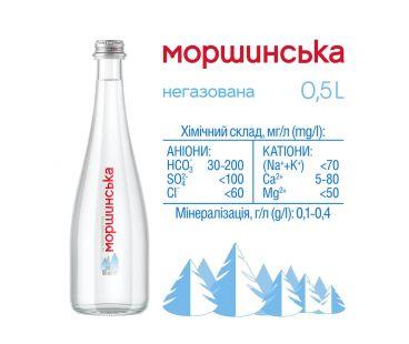 Моршинская премиум негаз стекло 0,5л
