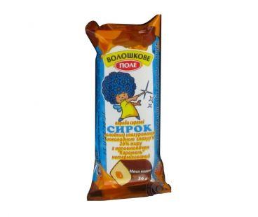 Молочные продукты Волошкове Поле Сырок глазированный карамель 26% 36г