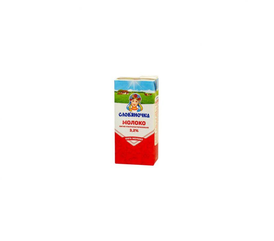 Словяночка Молоко ультрапастеризованное 3.2%