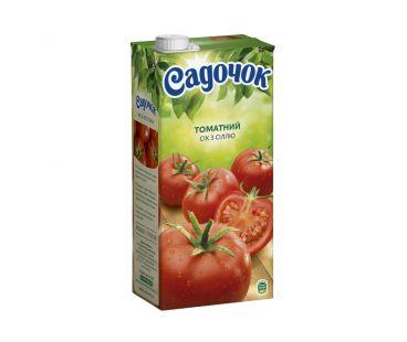 Сок Садочек Томатный с солью т/п 0,95л
