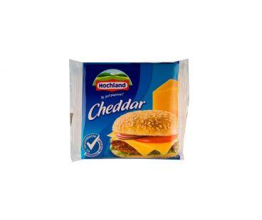 Hochland Сыр плавленый Чеддер ломтиками 40% 130г