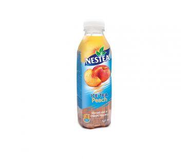 Nestea Холодный черный чай с персиком 0,5 л