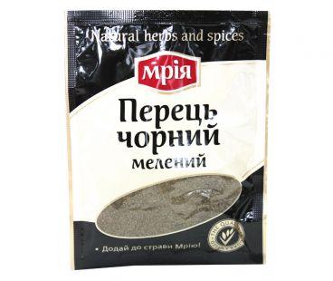 Специи, Уксус Мрия перец черный молотый 20 г