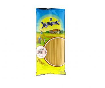 Макароны твердых сортов Хуторок Спагетти  700 гр
