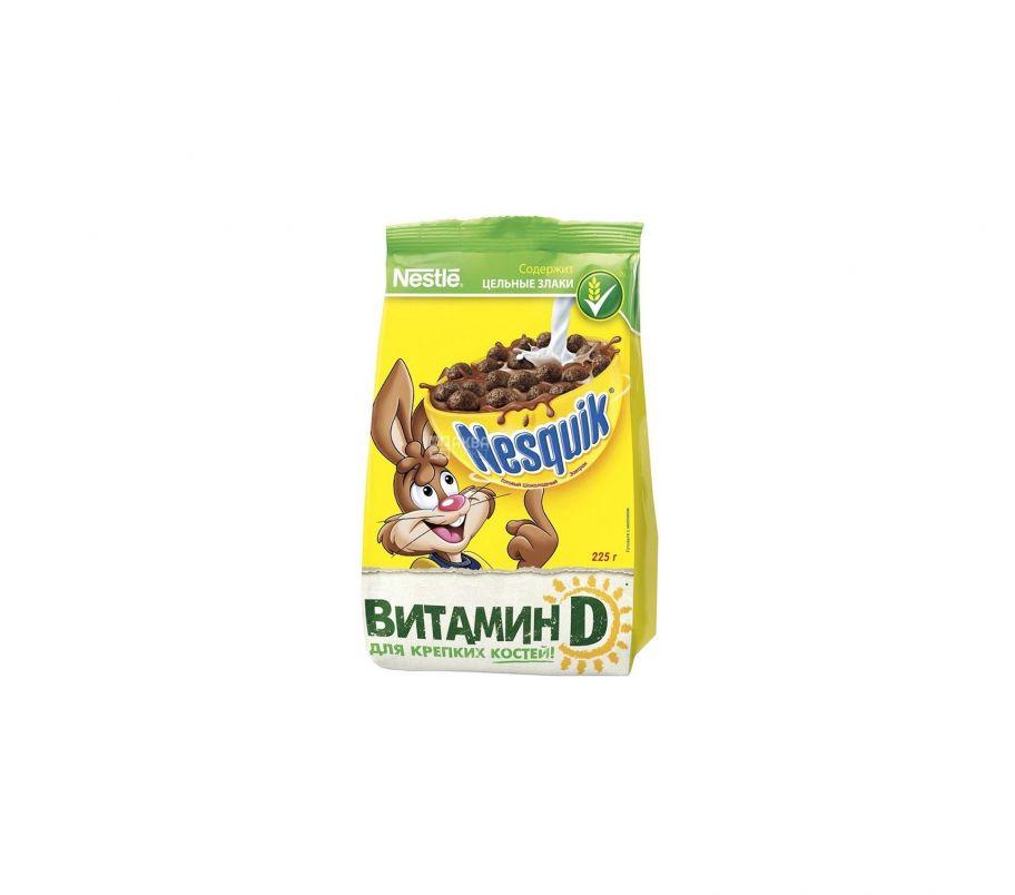 Nesquik Завтрак готовый шоколадный 225г