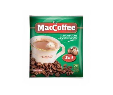 Maccoffee Пакет 3в1 Лесной Орех 25 шт