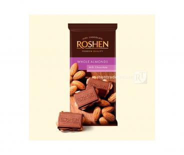 Rochen Шоколад молочный с целым миндалем