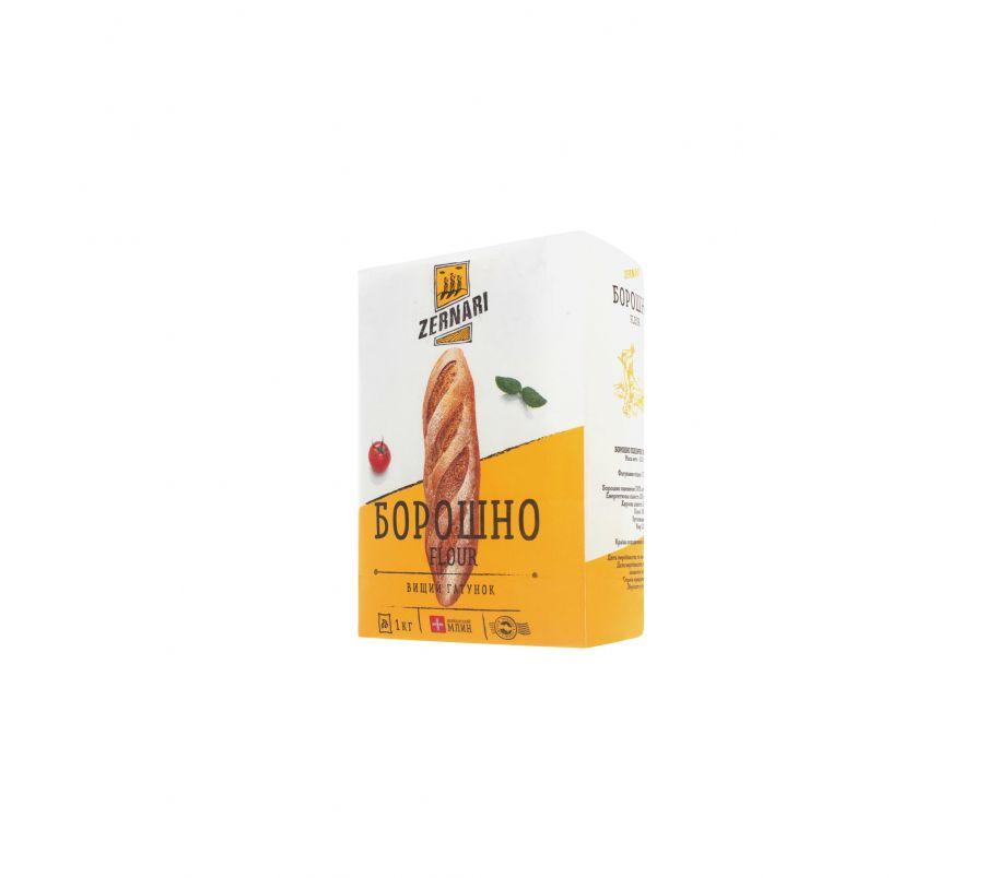 Zernari Мука пшеничная в/с 2 кг
