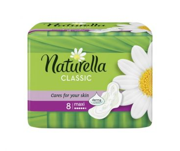 Прокл гигиен NATURELLA CLASSIC 5 Кап 8 шт