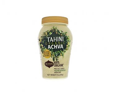 Паста арахисовая шоколадная Achva Тахини органическая 500г