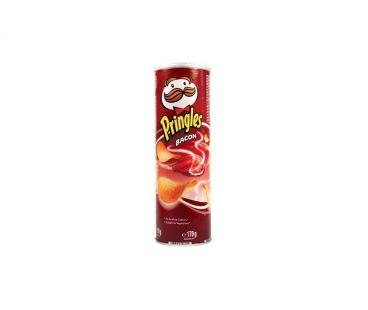 Pringles Чипсы бекон 165г