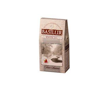 Чай черный Базилур Basilur Четыре сезона Зимний с клюквой картон 100г
