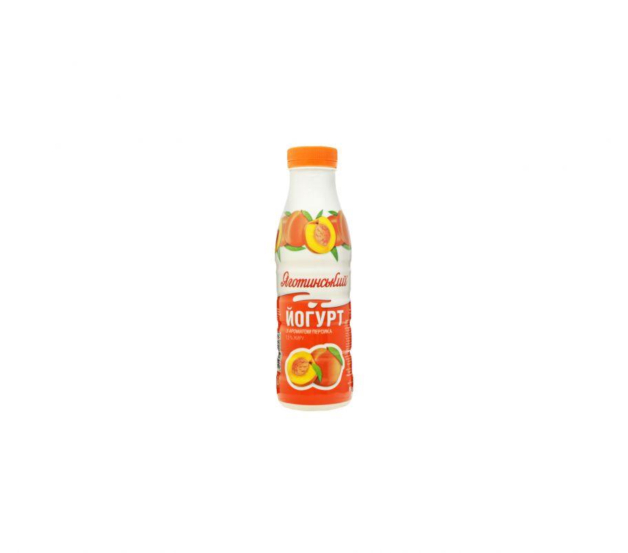 Яготинское йогурт персик 1,5% 0,27 бут