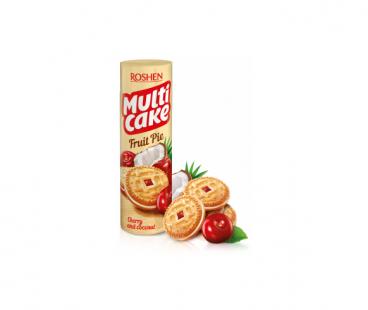 Фасованная продукция Rochen Multicake печенье-сендвич вишня-кокос 195г