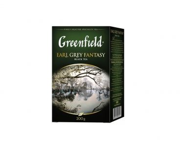 Чай черный Гринфилд Greenfield Earl Grey Fantasy - Эрл Грей 200 г