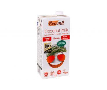 Ecomil Молоко органическое из кокоса без сахара 1л