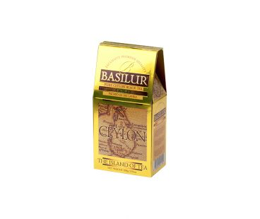 Чай черный Базилур Basilur Чайный остров Золотой картон 100г