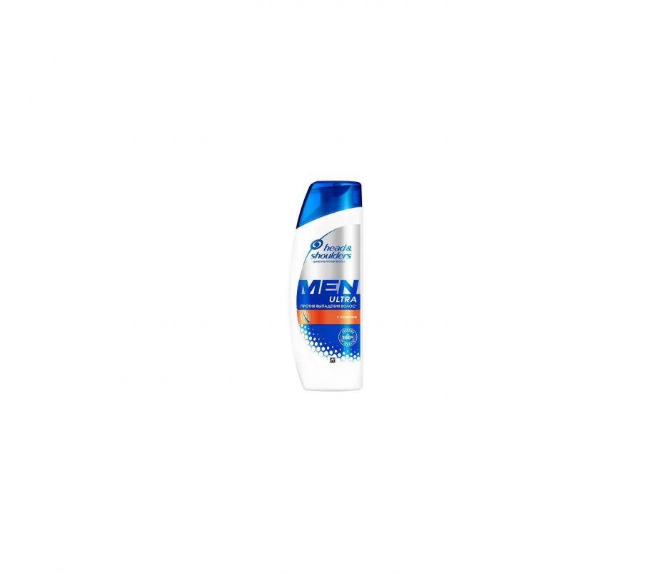 H&S Шампунь MEN ULTRA против выпадения волос  с кофеином  400мл
