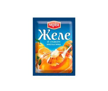 Пакетированные добавки Мрия Желе со вкусом апельсина 90г