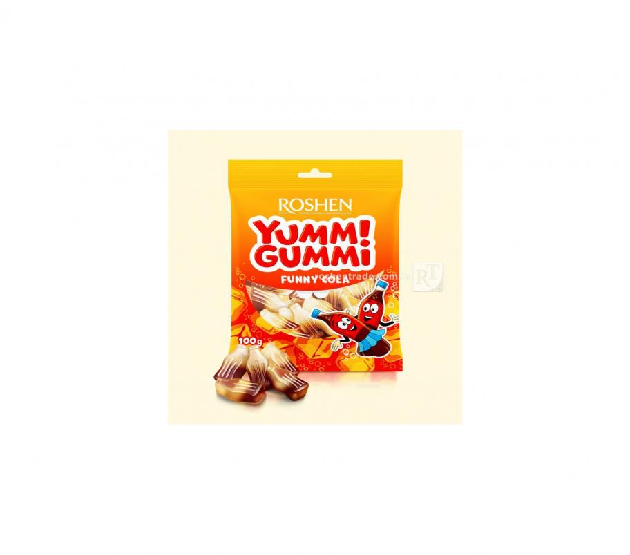 Rochen Желейные конфеты Funny Cola 100г